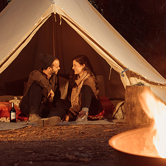 A Beginner's Guide to Romantic Glamping