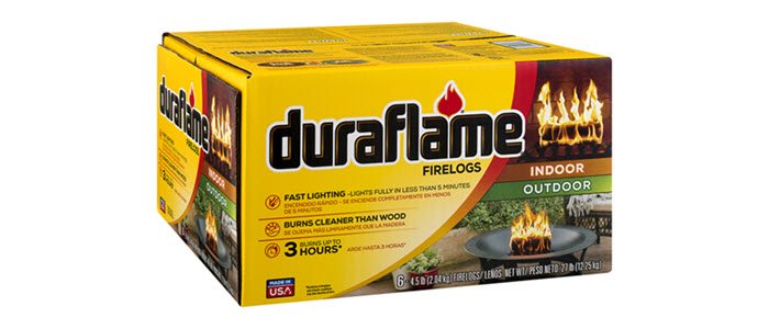 DURAFLAME® 4.5LB FIRELOGS 6-LOG CASE