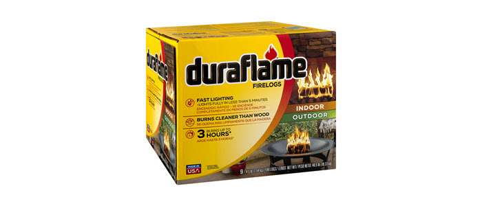 DURAFLAME® 4.5LB FIRELOGS 9-LOG CASE