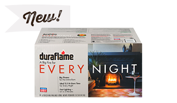 One Case of duraflame® Every Night Firelogs