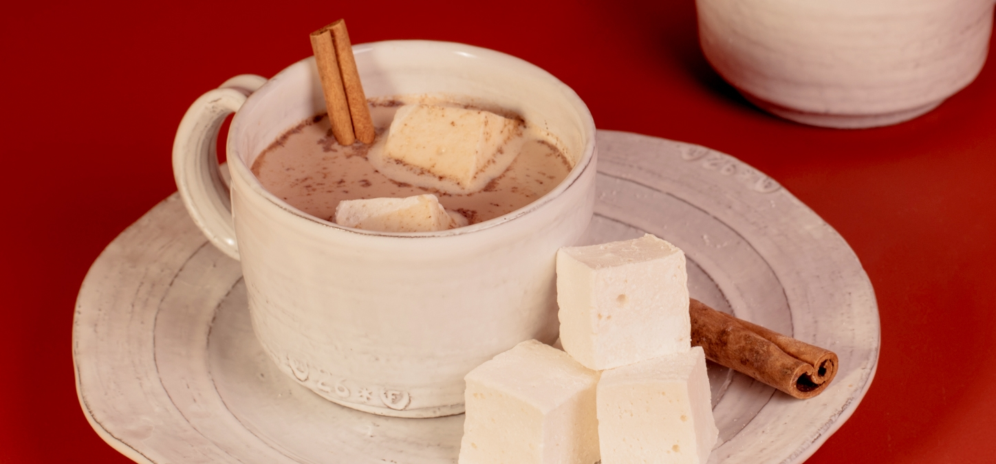 Spiced Hot Cocoa with Homemade Marshmallows