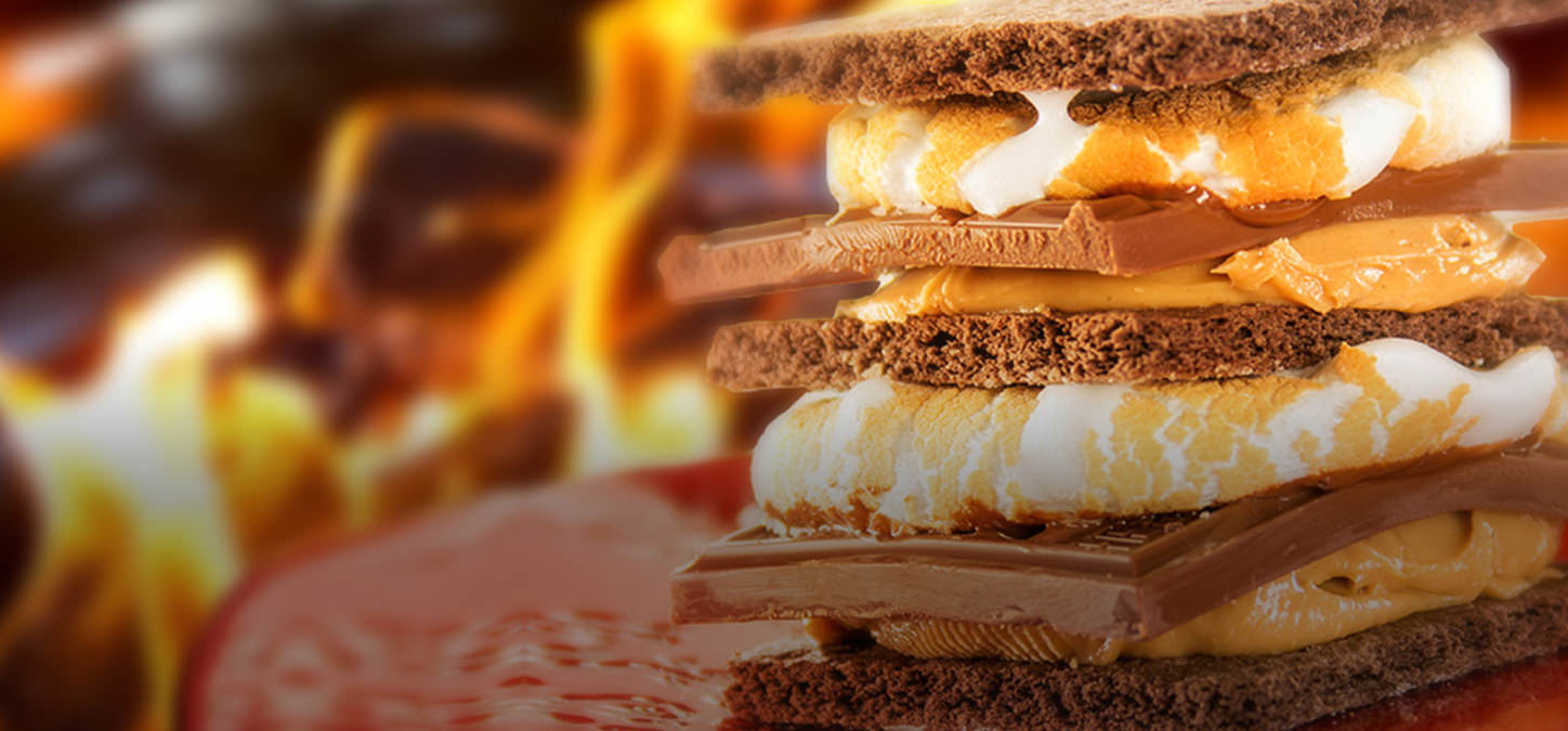 Peanut Butter Cup S'mores by duraflame