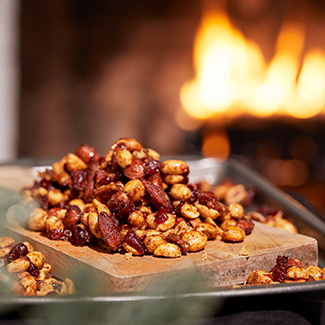 Fireside Snacks: Spiced Nuts