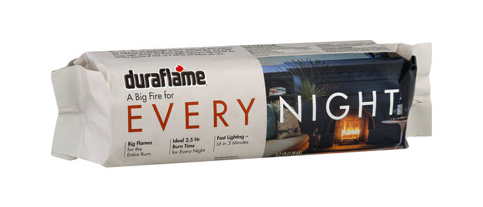 DURAFLAME® EVERY NIGHT single FIRELOG packaging
